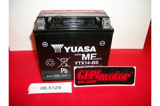 BATTERIA YUASA YTX14-BS